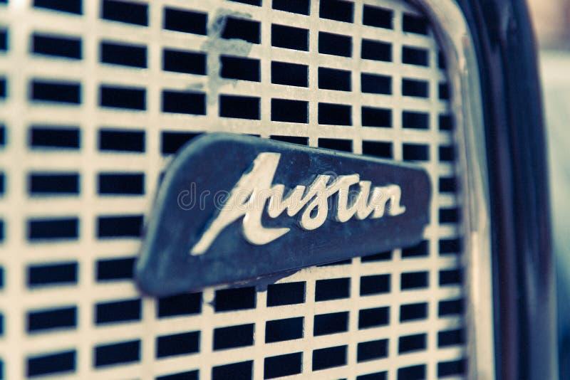 奥斯汀商标汽车特殊性  库存照片