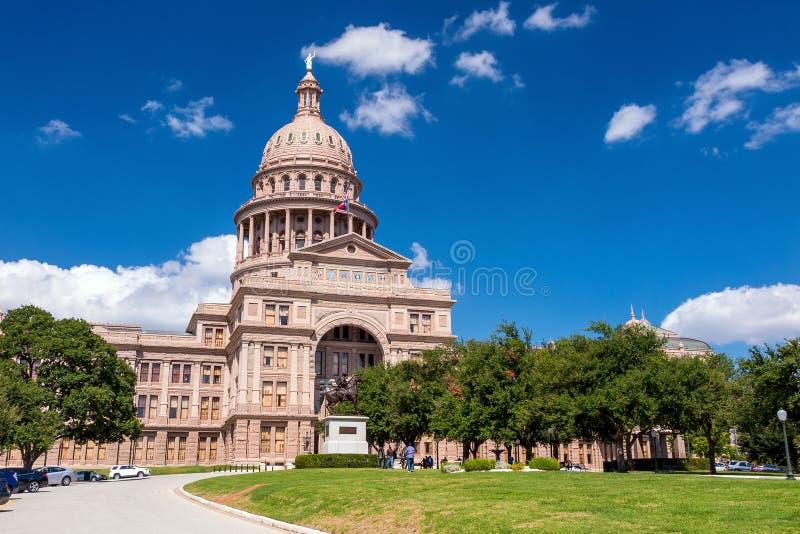 奥斯汀大厦国会大厦状态得克萨斯 库存照片