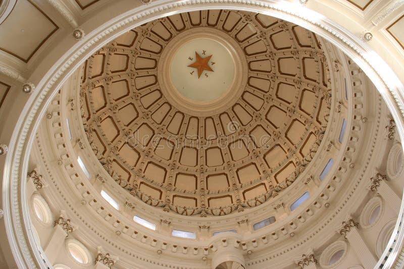 奥斯汀大厦国会大厦街市状态得克萨斯 库存照片