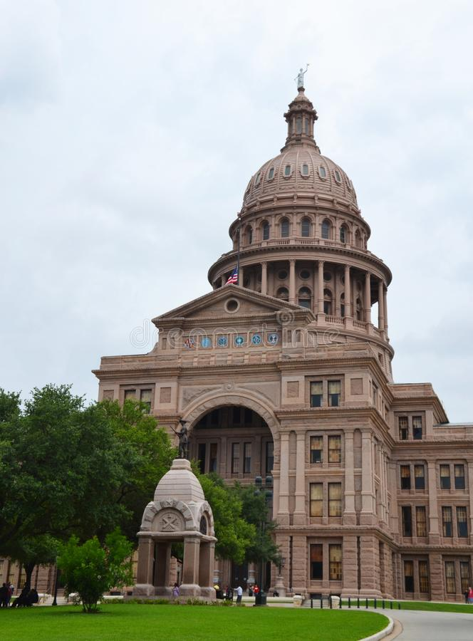 奥斯汀状态国会大厦在得克萨斯,美国 库存图片