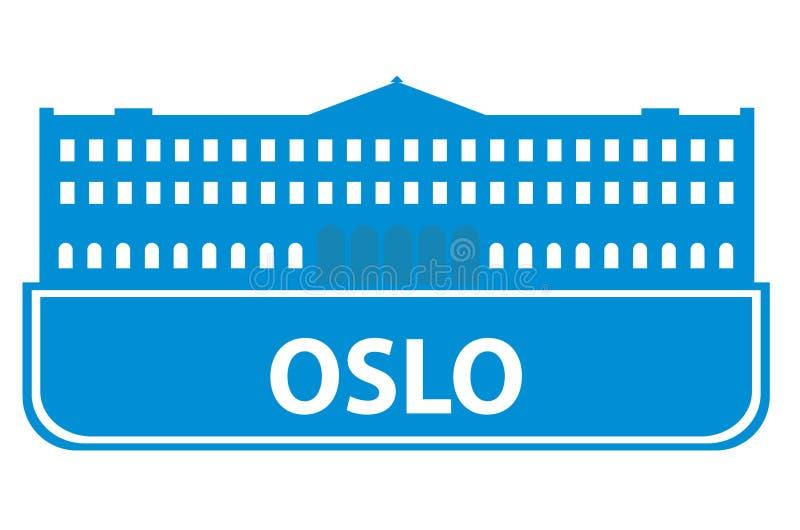 奥斯陆分级显示 皇族释放例证