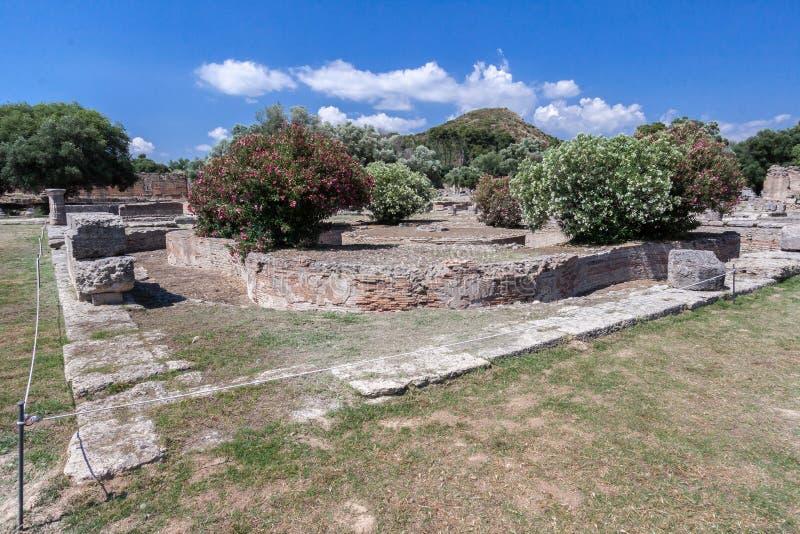 奥林匹亚寺庙希腊 库存图片