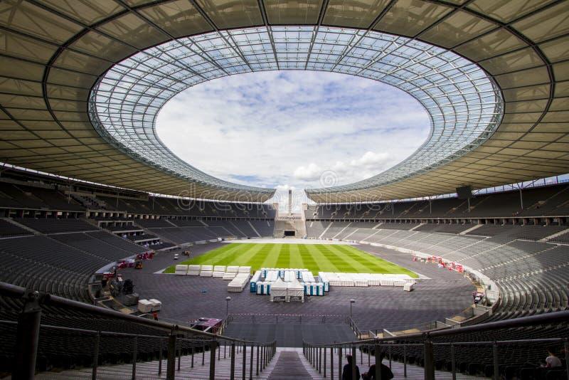 奥林匹克体育场在柏林德国 免版税库存图片