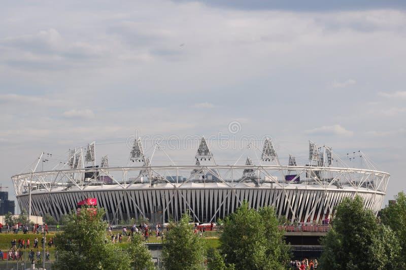 奥林匹克体育场,奥林匹克公园,伦敦 编辑类照片
