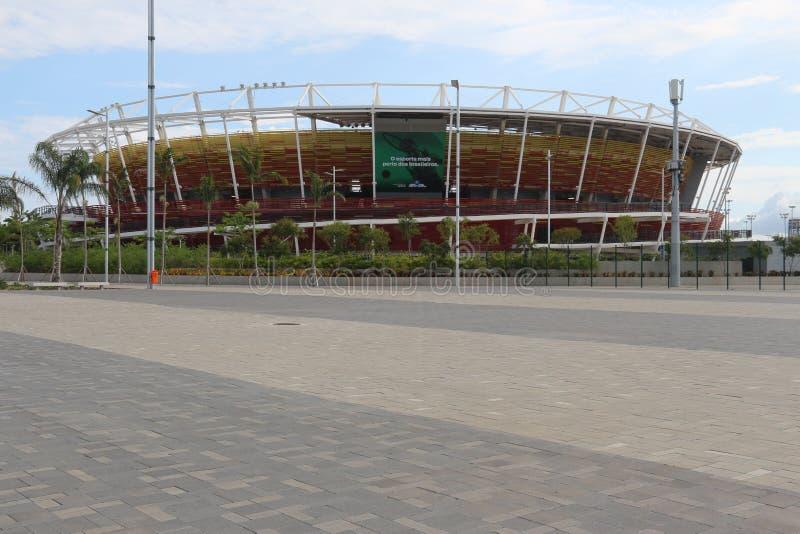 奥林匹克公园里约2016年被变换了成休闲区域b 图库摄影
