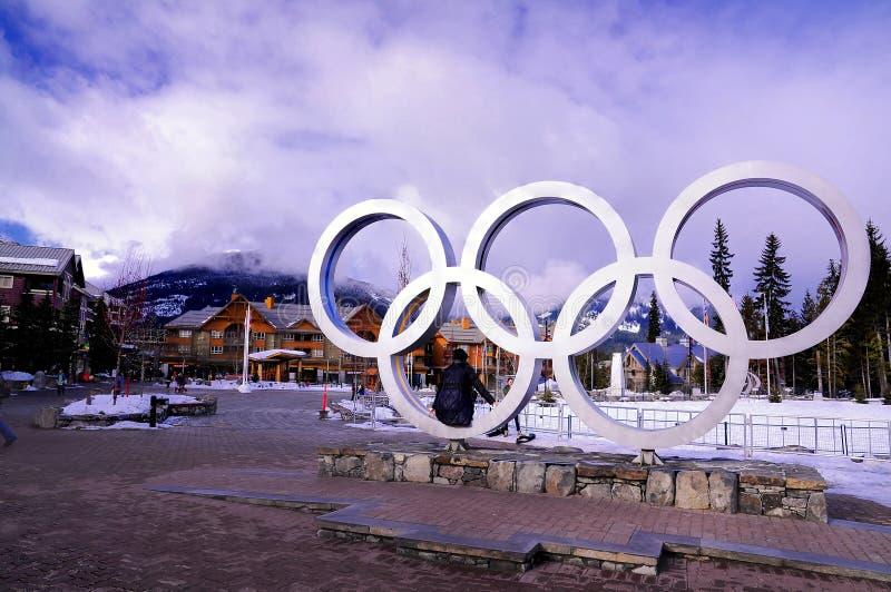 奥林匹克冬天 免版税库存照片