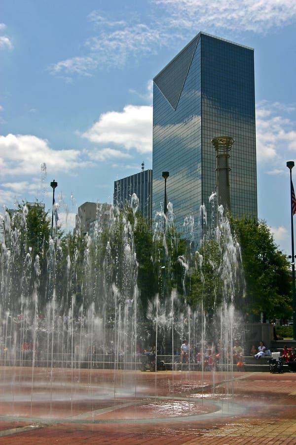 奥林匹克的喷泉 库存照片