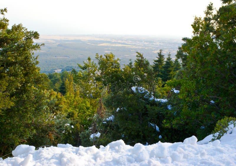 从奥林匹斯山的顶端 免版税库存图片