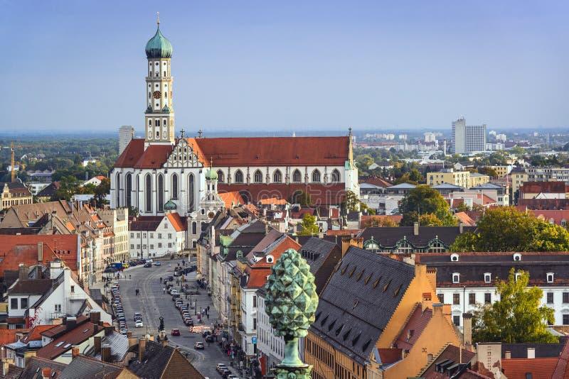 奥格斯堡,德国 免版税库存图片