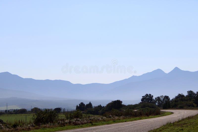 奥特尼夸山脉的自然美人 免版税库存照片