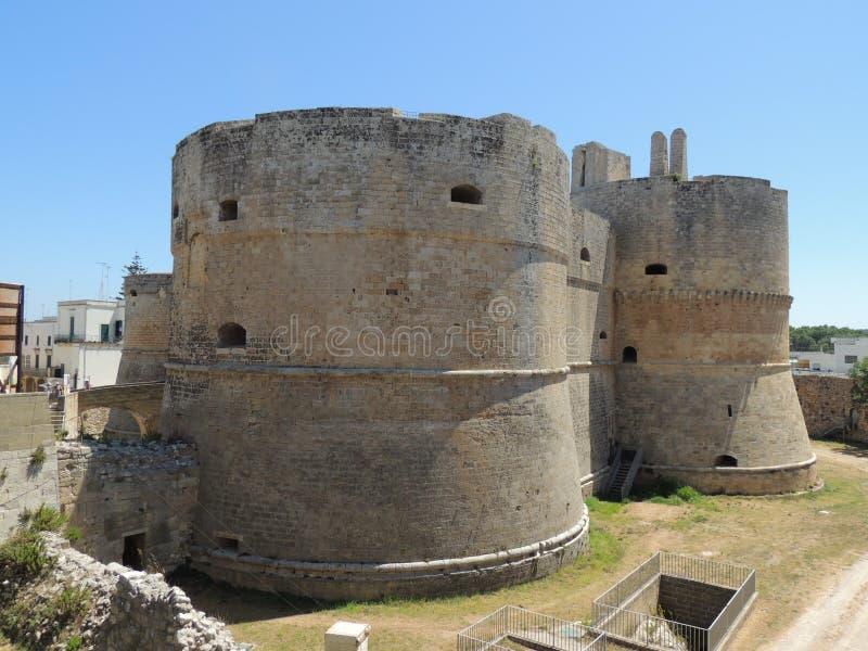 奥特朗托城堡 库存图片