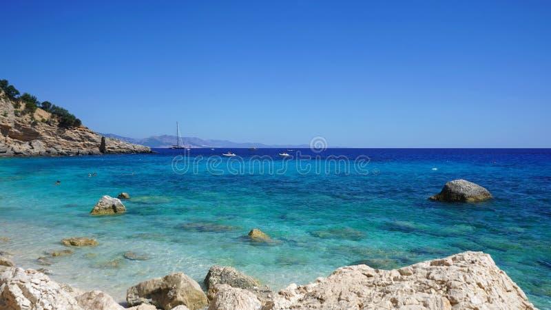 奥罗塞伊海滩,Sardiania海湾  免版税库存图片