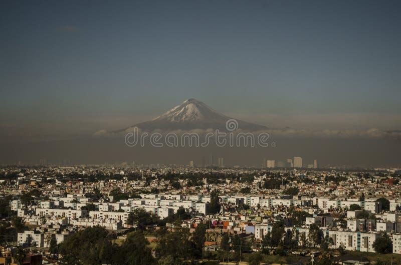 奥里萨巴山,火山,墨西哥 免版税库存图片