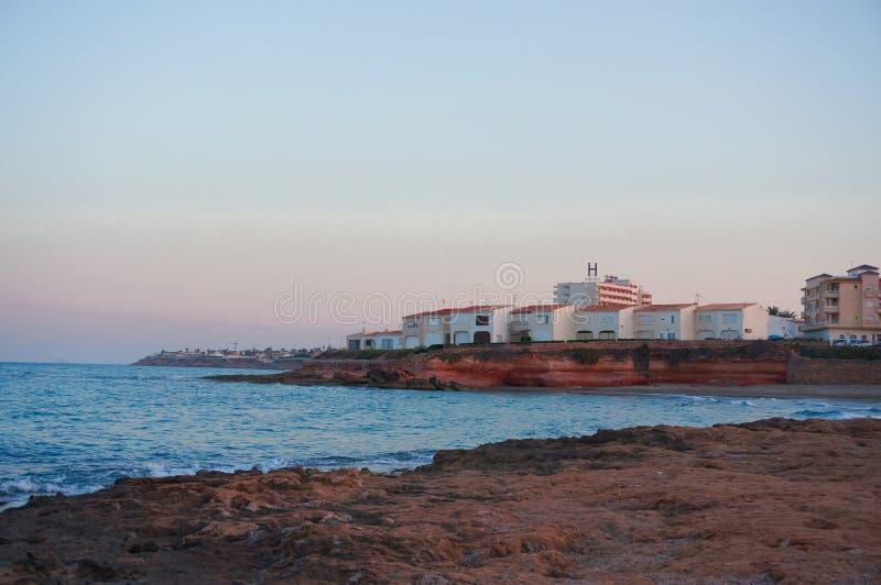 奥里韦拉肋前缘海滩 免版税库存照片