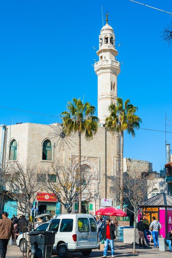 奥马尔清真寺 免版税库存照片