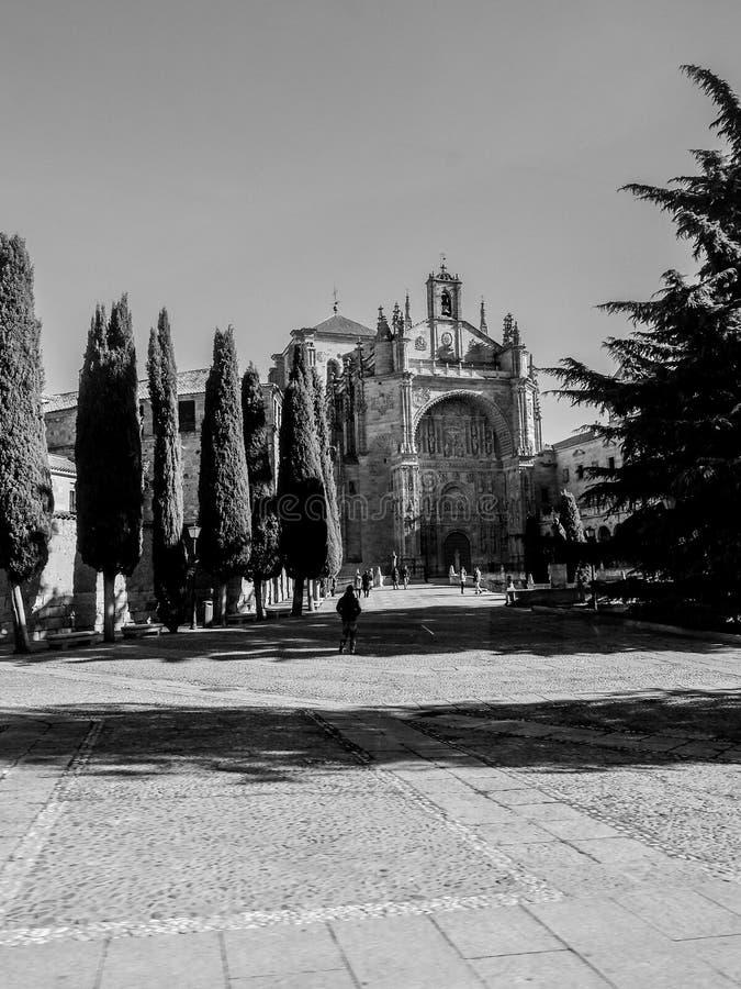 女修道院圣埃斯特万 免版税库存图片