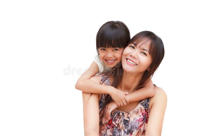 女儿母亲 库存图片