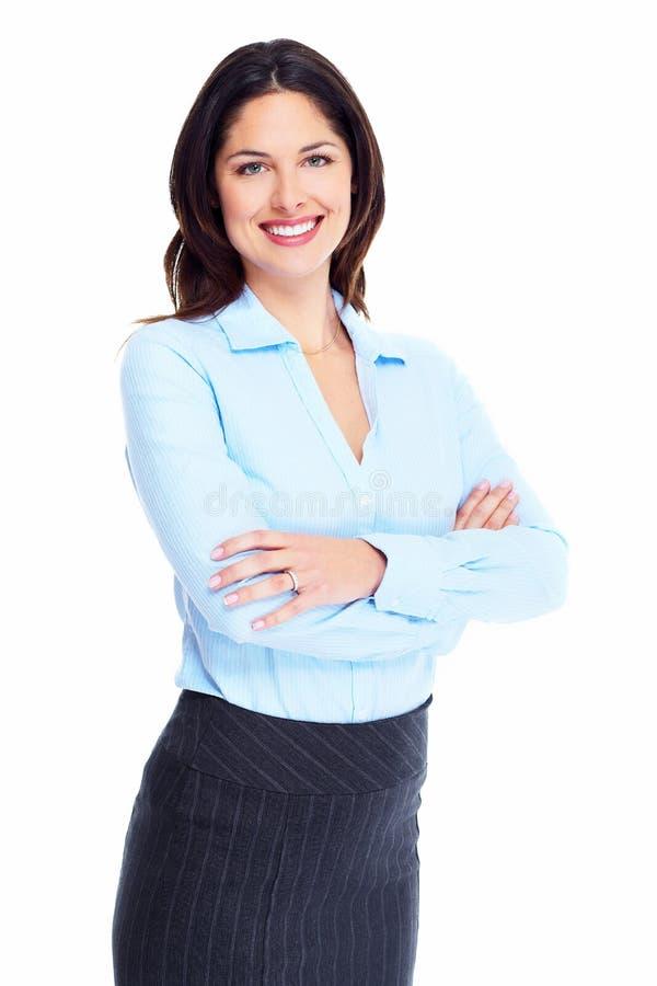 女商人。 免版税库存图片