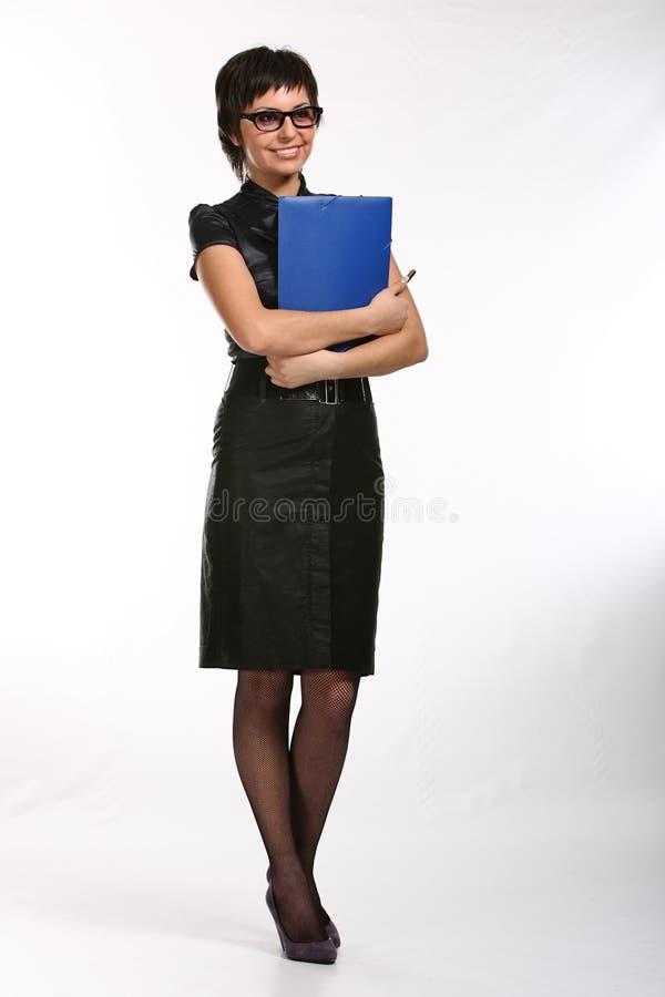 女商人年轻人 免版税库存照片