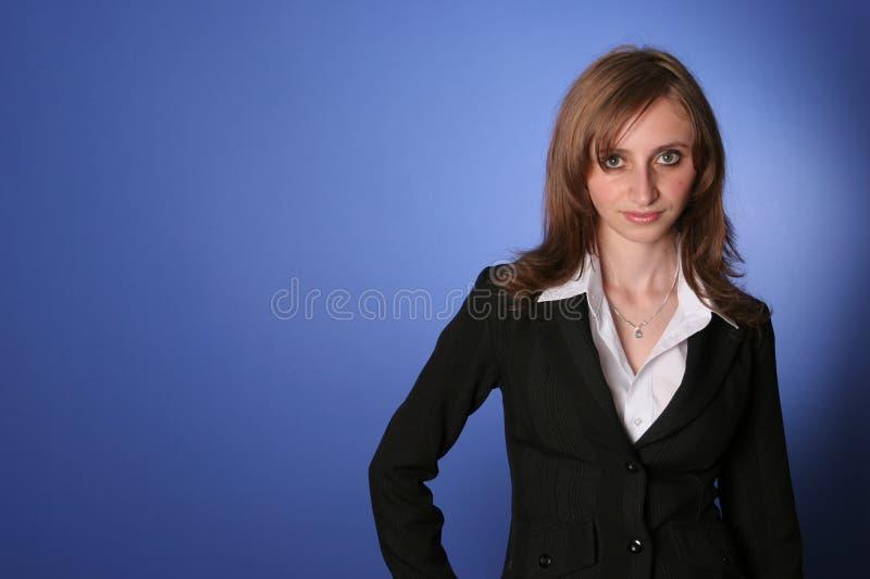 女商人年轻人 库存照片