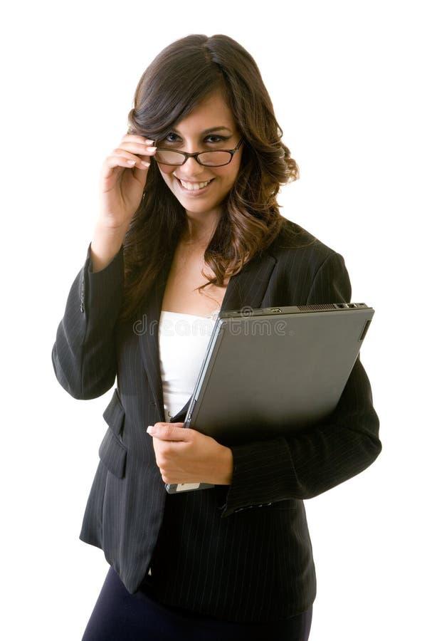 女商人年轻人 免版税库存图片