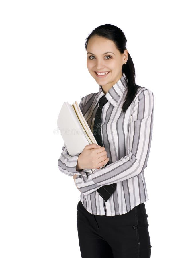 女商人年轻人 免版税图库摄影