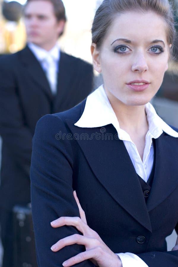 女商人 免版税图库摄影