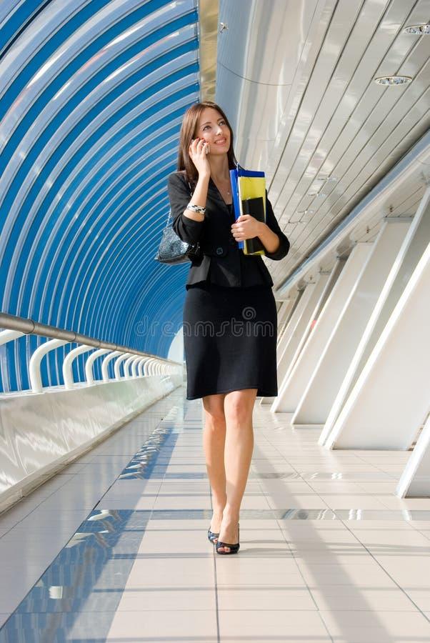 女商人 图库摄影