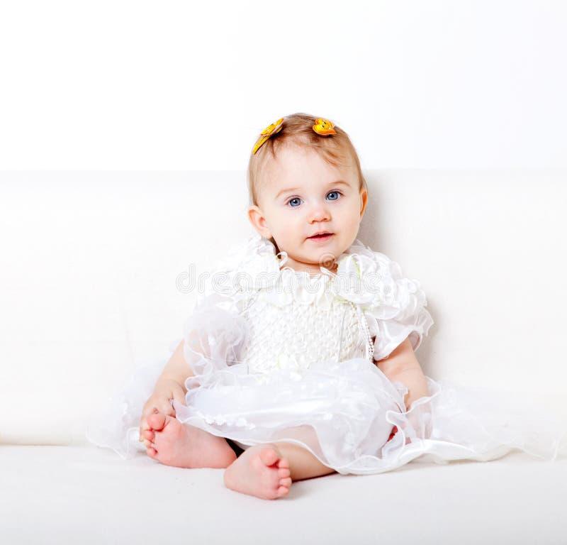 女婴甜点 免版税库存图片