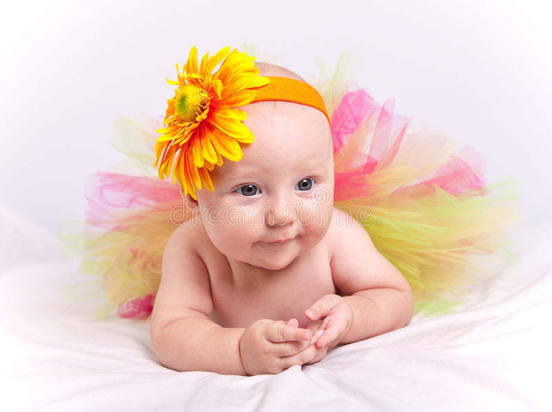 女婴 库存照片