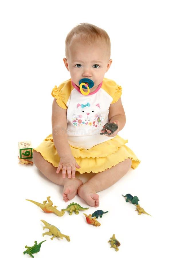 女婴 图库摄影