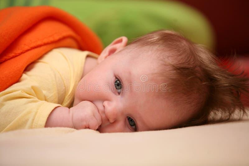 女婴 免版税图库摄影