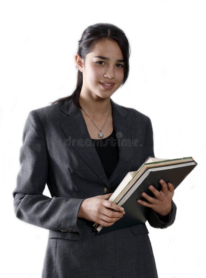 女学生大学 免版税库存图片