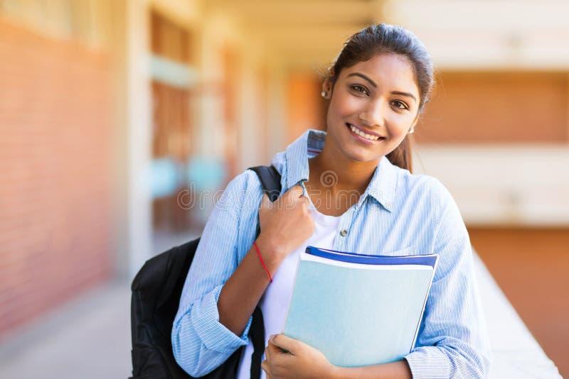 女学生大学 免版税库存照片