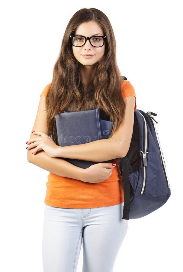 年轻女学生 免版税库存图片