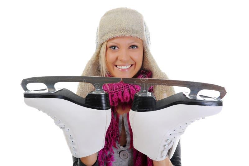 Download 女孩冰鞋 库存照片. 图片 包括有 喜悦, 人们, 快乐, 有吸引力的, 背包, 偶然, beautifuler - 22358552