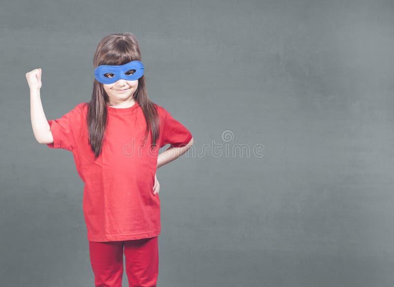 女孩力量概念 库存图片