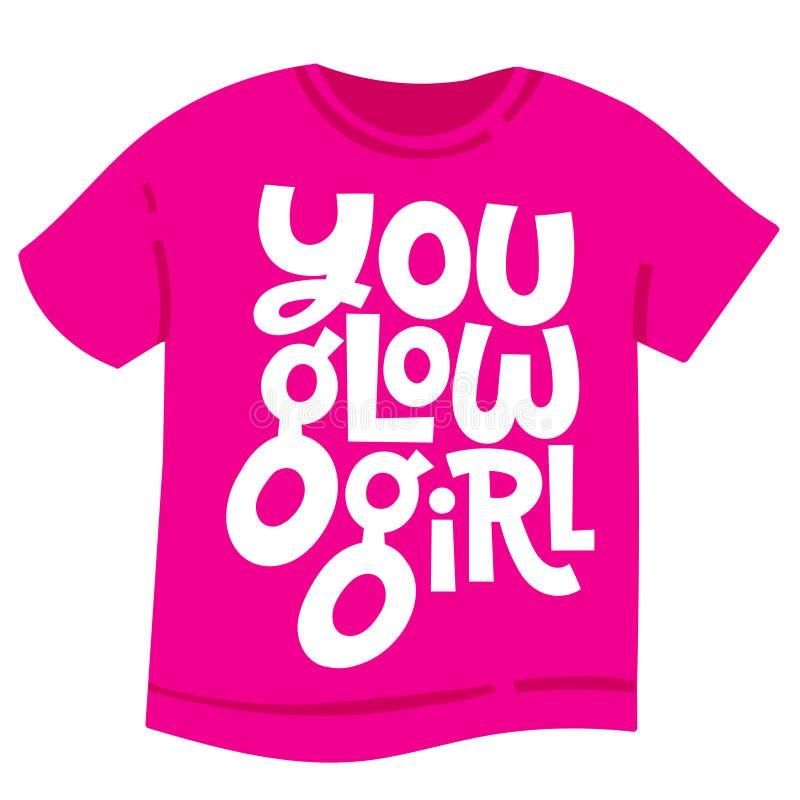 女孩力量行情 向量例证