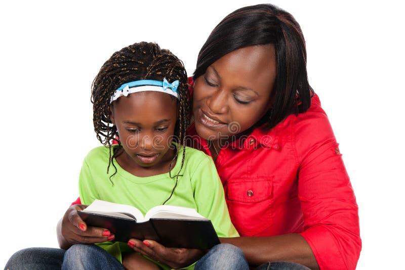 女孩和母亲 库存图片