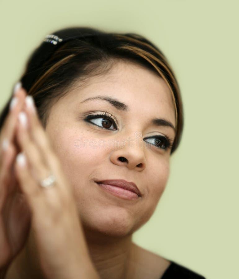 女孩墨西哥年轻人 免版税库存照片