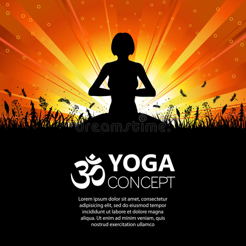 Download 女孩姿势剪影瑜伽 向量例证. 插画 包括有 春天, beautifuler, 女孩, 放松, 本质, 钞票 - 59112921