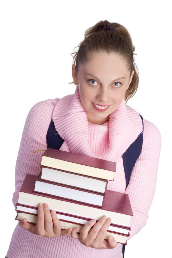 女孩学校 免版税库存图片