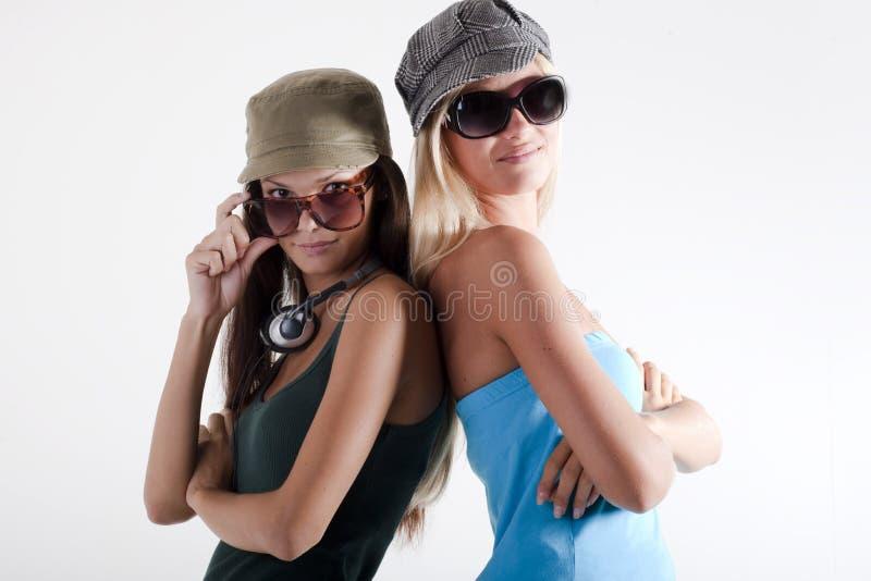 女孩少年时髦 免版税库存照片