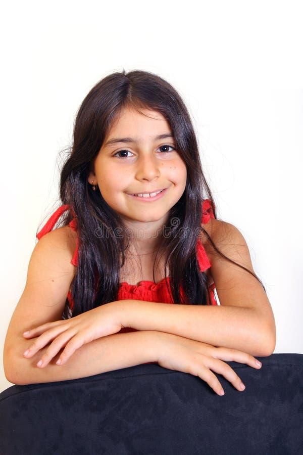 女孩年轻人 免版税库存照片