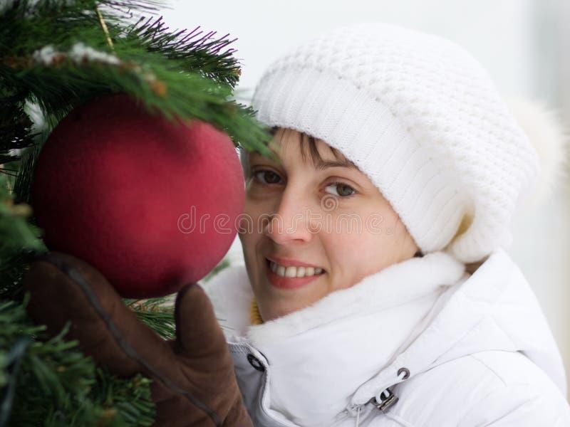 女孩微笑 免版税图库摄影