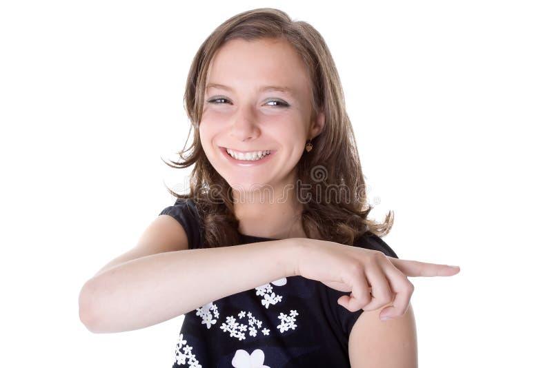 女孩权利显示 免版税库存照片