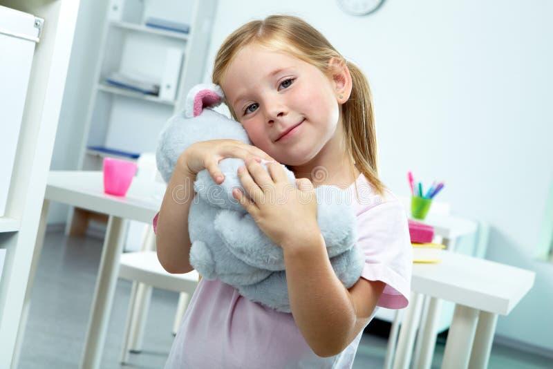 女孩玩具 免版税库存照片