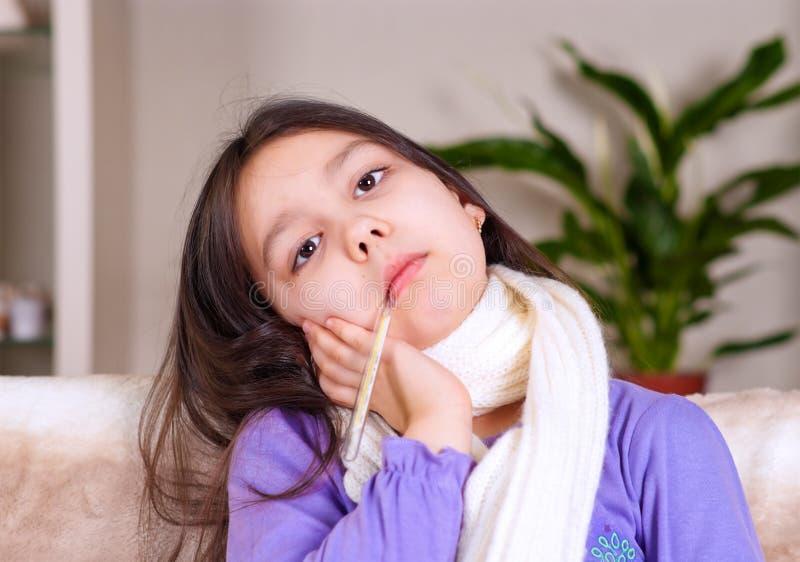 女孩病症 免版税库存图片