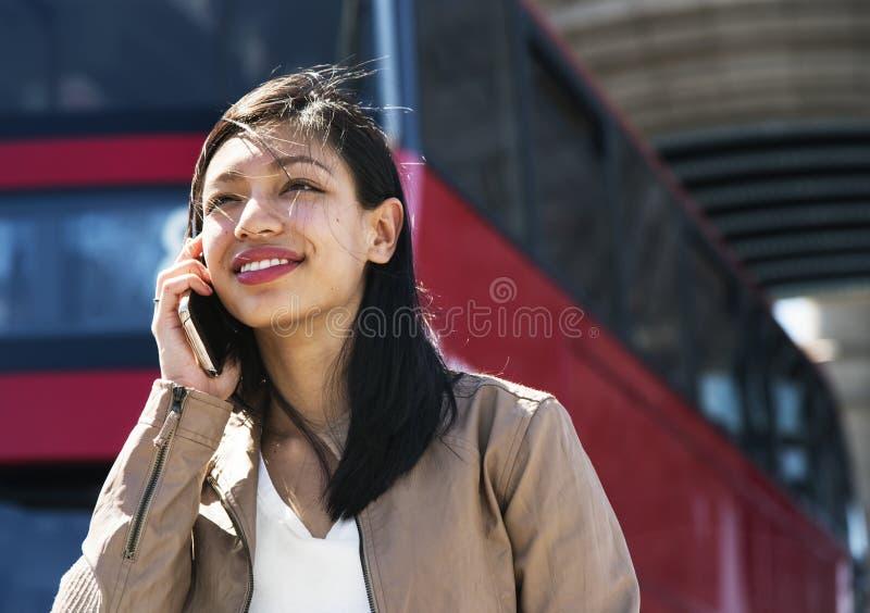 女孩美好的女性妇女行家概念 免版税库存图片
