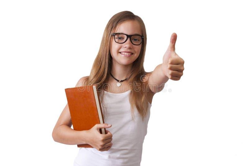 女孩表示 免版税库存照片